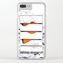 Block House Clear iPhone Case