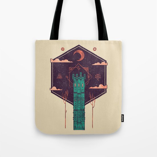 The Tower Azure Tote Bag