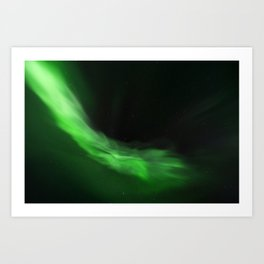 The Northern Lights 10 Art Print