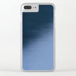 The Soft Blue Hour Before Dawn at the Lake Clear iPhone Case