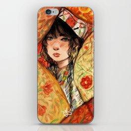 Hidden Girl iPhone Skin