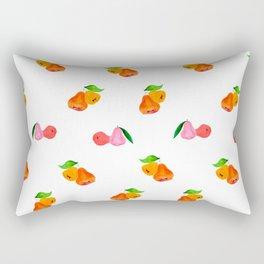 Jambu II (Wax Apple) - Singapore Tropical Fruits Series Rectangular Pillow