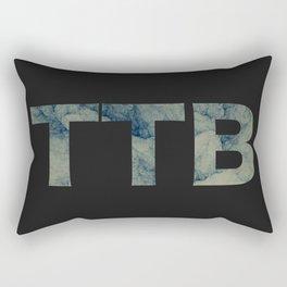 TTB - ICE TEXT (Black) Rectangular Pillow