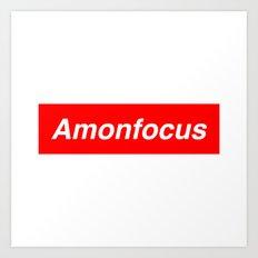 Amon Focus Art Print
