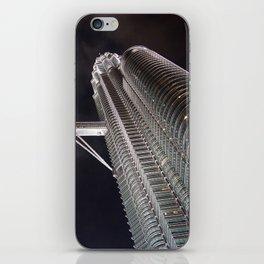 Petronas Twin Tower, Malaysia iPhone Skin