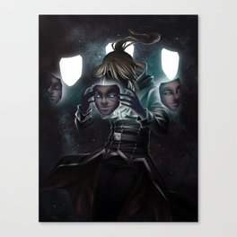 Behind the Mask Canvas Print