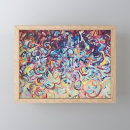 Unravelling Framed Mini Art Print