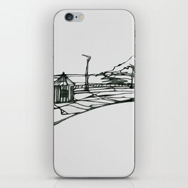 Ireland Bray Sea Front iPhone Skin