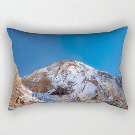 Zion Winter - 4536 Big_Bend_Viewpoint Rectangular Pillow