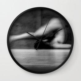 male nude study Wall Clock