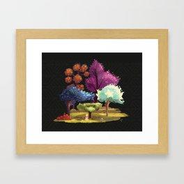 Robin Hood! The Forest. Framed Art Print