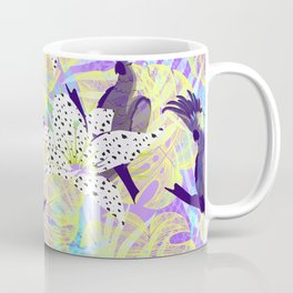 Tropical birds in the jungle Coffee Mug