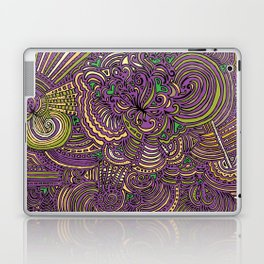 Drawing Meditation - Lilac Laptop & iPad Skin