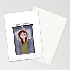 I can't sleep. Stationery Cards