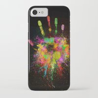 iPhone Cases featuring Artist Hand (1) by Adil Siddiqui