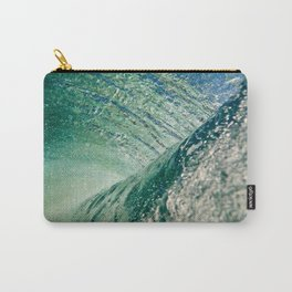 Under Ocean Wave Carry-All Pouch