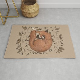 Sleeping Fox Rug