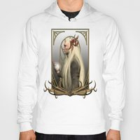 thranduil Hoodies featuring Thranduil and the Arkenstone by Alice9