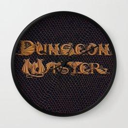 Dracoserific Dungeon Master Wall Clock