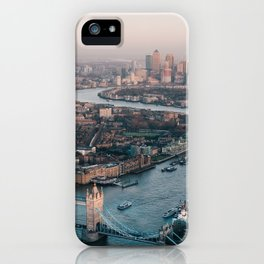 London England Aerial Views iPhone Case