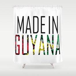 Made In Guyana Shower Curtain