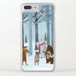 nature symphony Clear iPhone Case