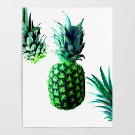 Malibu Pineapple   Anana Exotic Poster