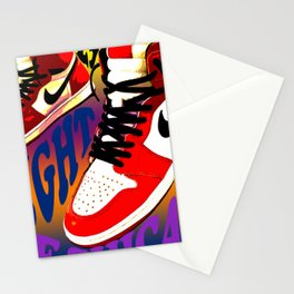 Psychedelic Sneakers Stationery Cards