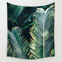 palm Wall Tapestries featuring Palm by Bananarific