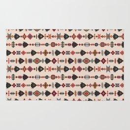 American Prairie Ethnic Tribal Seamless Pattern Rug