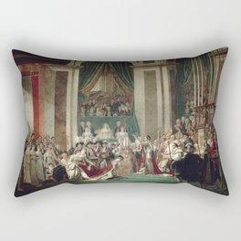 The Coronation of Napoleon and Josephine - Jacques-Louis David Rectangular Pillow