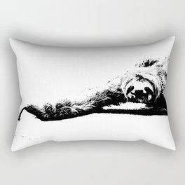 A Smiling Sloth Rectangular Pillow