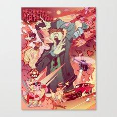 Machinima Film Festival Canvas Print