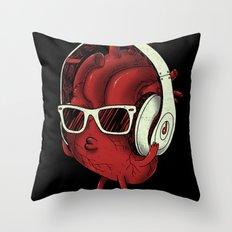 heartBEAT Throw Pillow