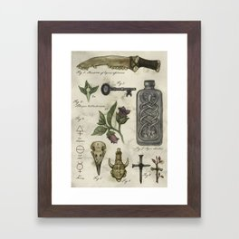 (Super)natural History - 01 Framed Art Print