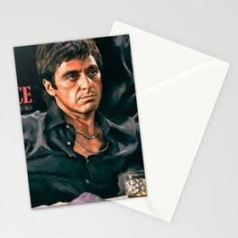 Classic Scarface Tony Montana Poster Stationery Cards