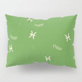Pisces Pattern - Green Pillow Sham