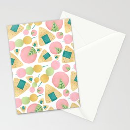 Japanese Snacks Stationery Cards