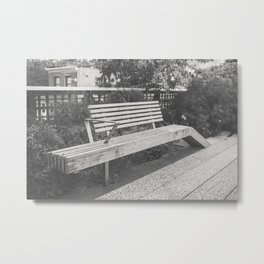 Take It In On the High Line Metal Print