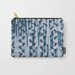 Distorted Lines Carry-All Pouch