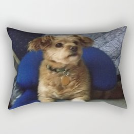 The Cute Pup Rectangular Pillow