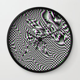 SERPENT'S ABYSS Wall Clock