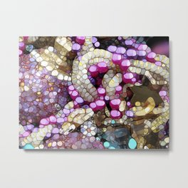 For the Love of BLING! Metal Print