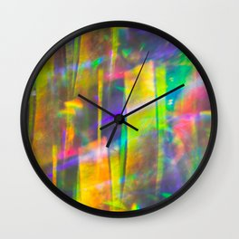 Prisms Play of Light 5 Wall Clock