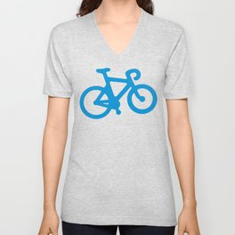 Blue Bike Unisex V-Neck