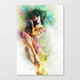 Self-Loving Embrace Canvas Print