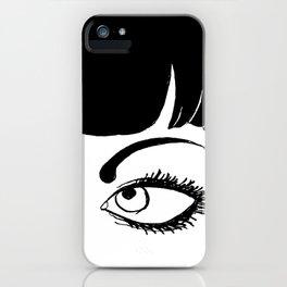LOVE BUZZ Close up iPhone Case