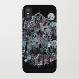 Supernature In The City Of Poison Syrup And Hope Candy iPhone Case