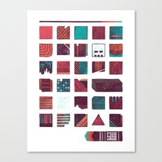 Swatches Canvas Print