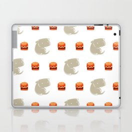 Sharkbark's Burgers - Pattern Laptop & iPad Skin